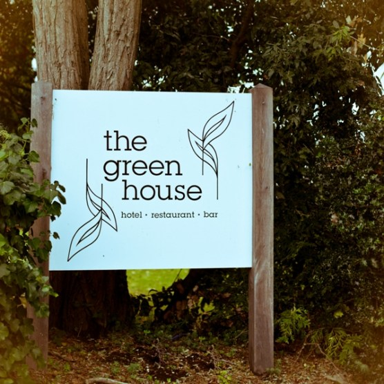 The Green House Hotel Bournemouth Sign