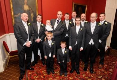 Groomsmen Grey Tailcoats