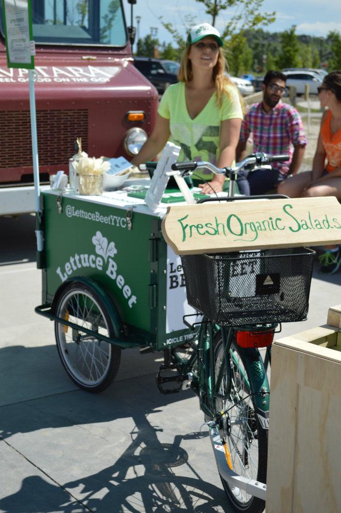 Salad Bikes  Produce on Wheels