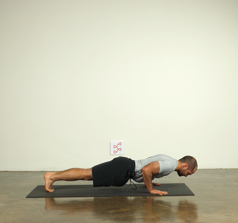 Low Pushup Pose