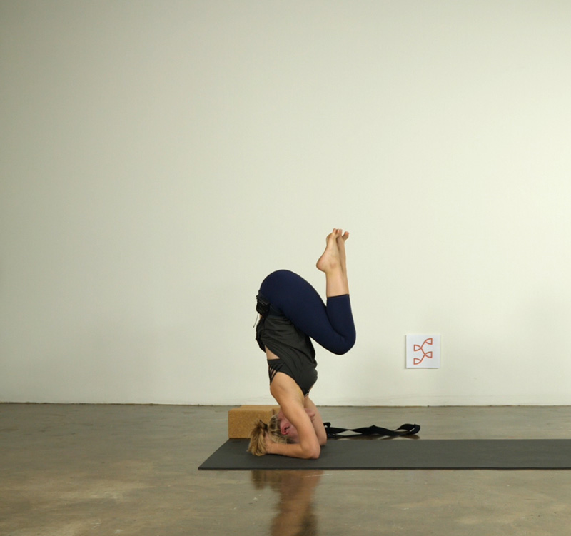 Build Up to Headstand
