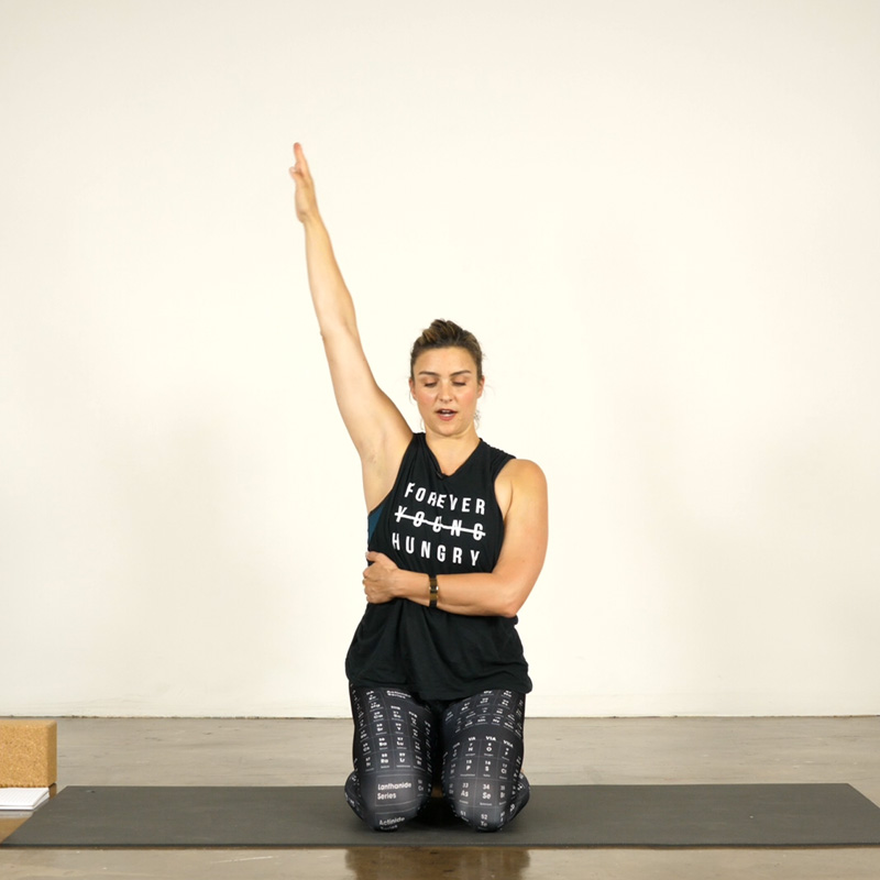 Shoulders, Wrists and a Quick Twist