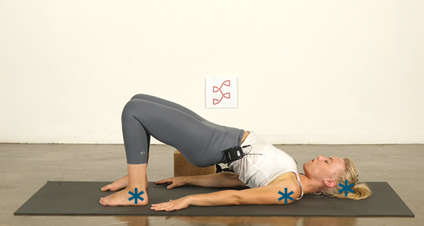 Yoga Poses for Athletes Wheel Pose - Step 0