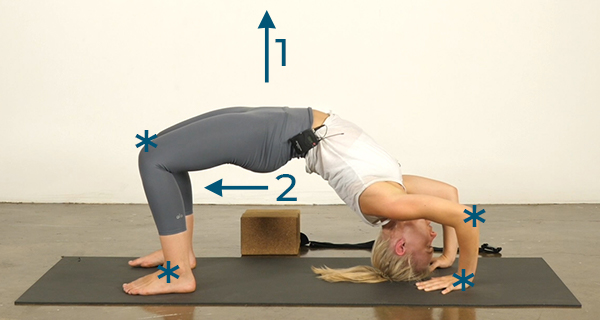 Yoga Poses for Athletes Wheel Pose - Step 1