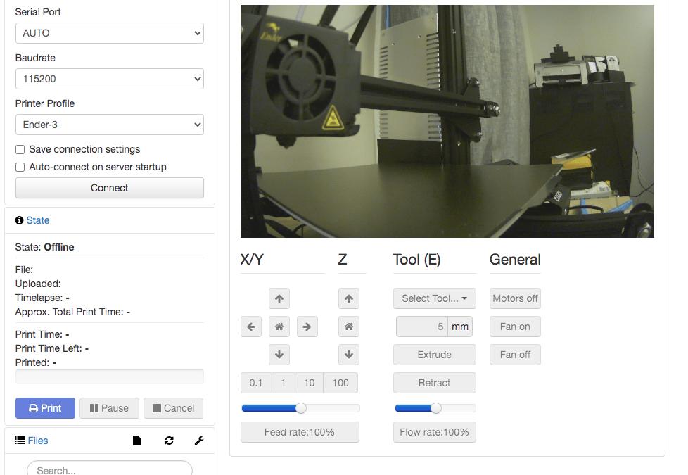 Setting up OctoPrint on Ubuntu 20.04 with Python 3