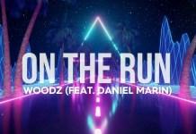 Woodz. Ft. Daniel Marin - On The Run (Hardstyle)   Official Lyric Videoclip