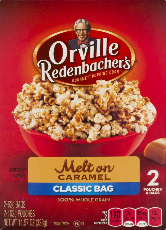 microwave popcorn classic bag melt