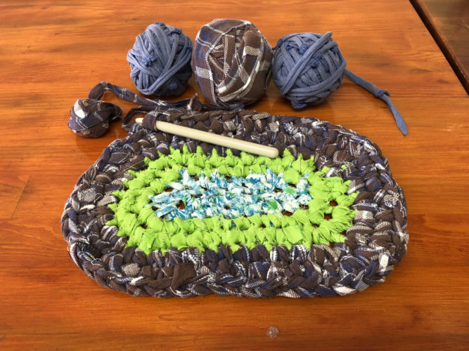 Crocheted Rag Rugs Iowa City Fab Lab