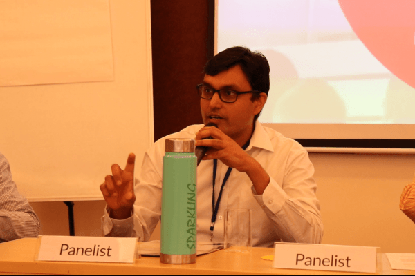 Dr. Vidur Mahajan in the panel discussion at IC InnovatorClub Meeting