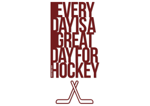 Every day is a good day for hockey