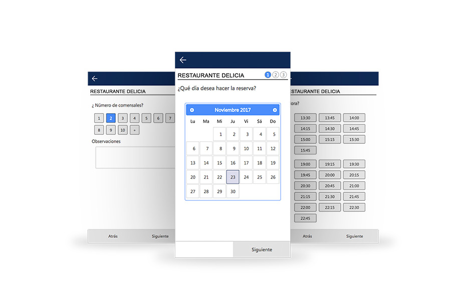 Software ICG para restaurantes reserva en linea
