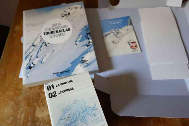 Helvetic Backcountry Ski Snowboard Tourenatlas Schweiz 05