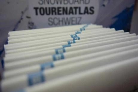 Helvetic Backcountry Ski Snowboard Tourenatlas Schweiz 08