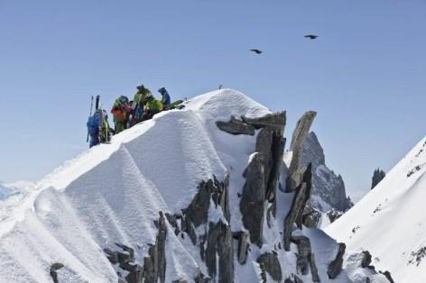 Salewa Climg to Ski, Chamonix 2013