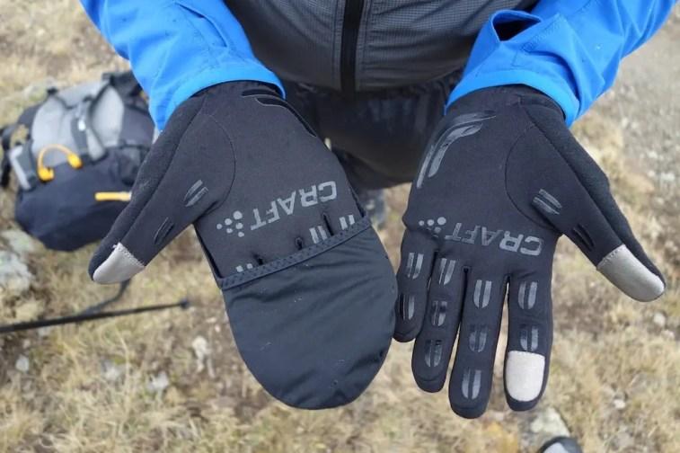 craft hybrid weather gloves 11