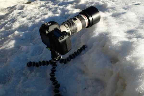 Joby Gorillapod SLR-Zoom + Ballhead-8