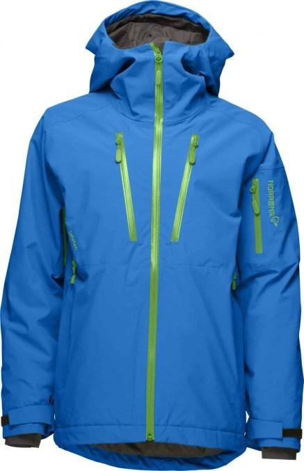 Norrøna JR lofoten Primaloft jacket_electric blue