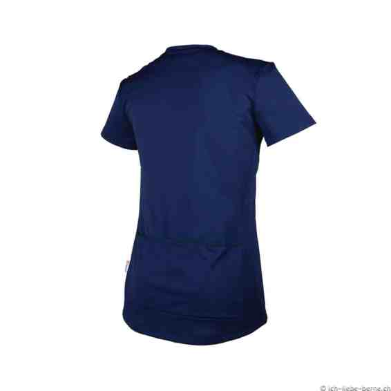 POC Trail-Light-Zip-Wo-Tee-Navy-Back