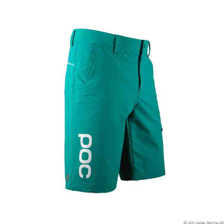 POC Trail-Shorts-WO-LightGreen-Front-Right