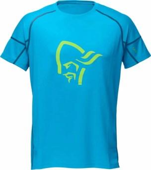 Norrøna fjora equalizer T Shirt too blue