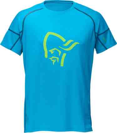 Norrøna fjora equalizer T Shirt too blue