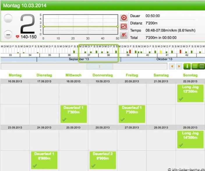 Runningcoach.ch Kalender