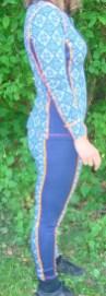 Merinounterwäsche Kari Traa Rose blau Pant und Roundneck12