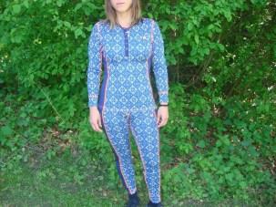 Merinounterwäsche Kari Traa Rose blau Pant und Roundneck13