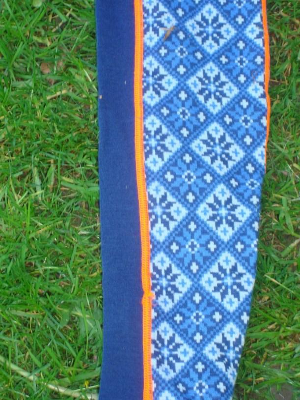 Merinounterwäsche Kari Traa Rose blau Pant und Roundneck4