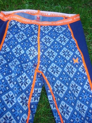 Merinounterwäsche Kari Traa Rose blau Pant und Roundneck6