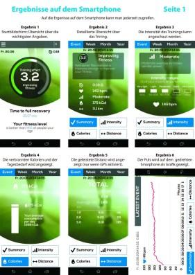 1. Ergebnisse auf dem Smartphone