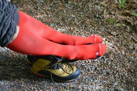 Sigvaris Mountain Socks rot_02