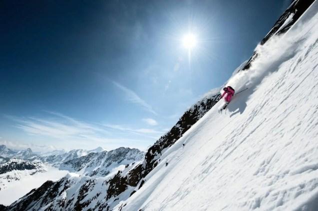 Stubaier Gletscher_Skifahren