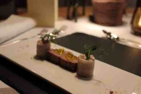 Sonnenhof, Zweierlei vom Sashimi Thunfisch