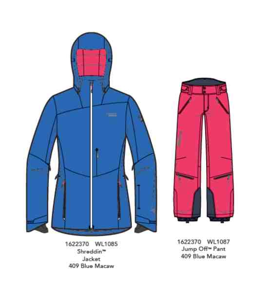 Columbia Shreddin Jacket und Columbia Jump Off Pant bimage0011