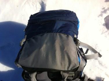 Schutzmaterial, vermeidet, dass die Deckeltasche klemmt beim Hochklappen