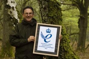 Nick Brown Nikwax - Queen's Award