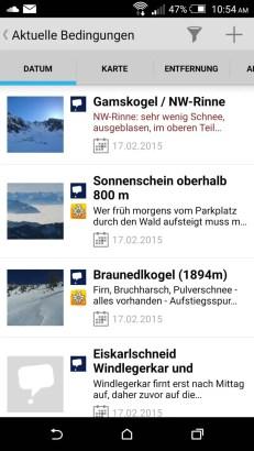 Ortovox Bergtouren App Tourendatenbank5