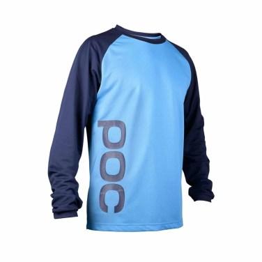 POC Flow Jersey Boron Blue-Tungsten Blue16