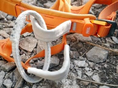 Leichtgewicht Klettergurt : Test petzl hirundos