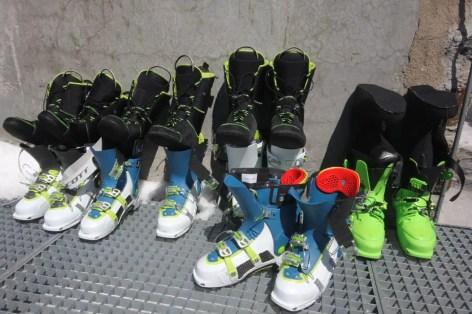 Test Gore-Tex Skitouren-Schuhen von Dynafit und Scott - 04