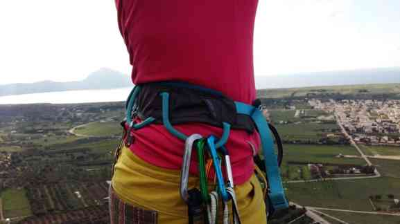 Test Klettergurt Salewa Rock W Harness5