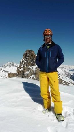 Die La Sportiva Latok Jacke ist nicht nur bei schönem Wetter zu gebrauchen