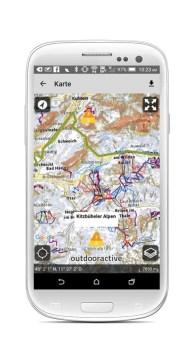 Ortovox Bergtouren App OVX_TourenApp_Android_Lawinenwarnstufe2