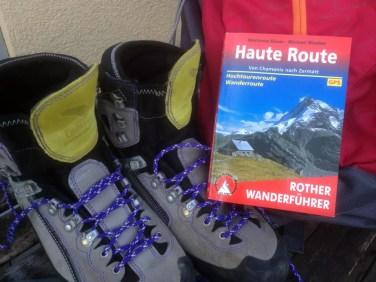Haute Route, Rother Wanderführer, Wander- und Hochtourenroute