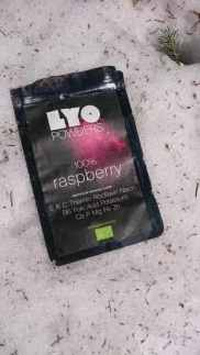 LYO FOODS POWDER Raspberry packaging