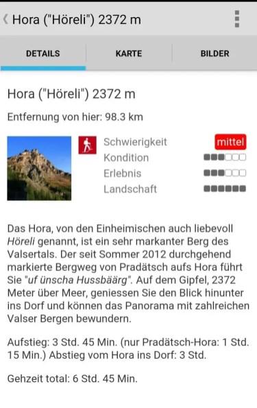 Wandern in der Schweiz 5