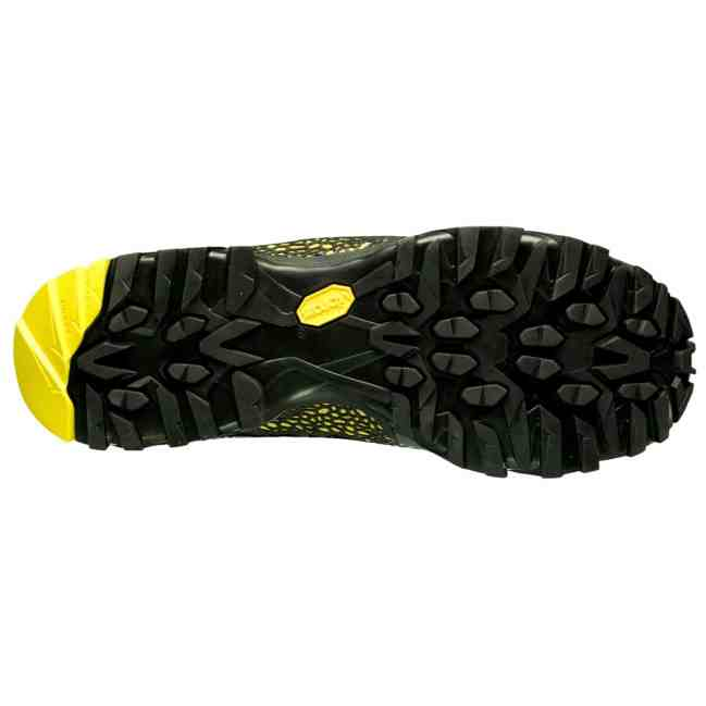 La Sportiva_Nucleo gtx black-yellow sole