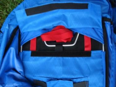 Rückenplatte