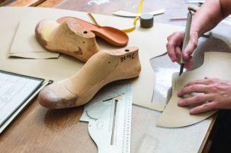 Schuhschablone